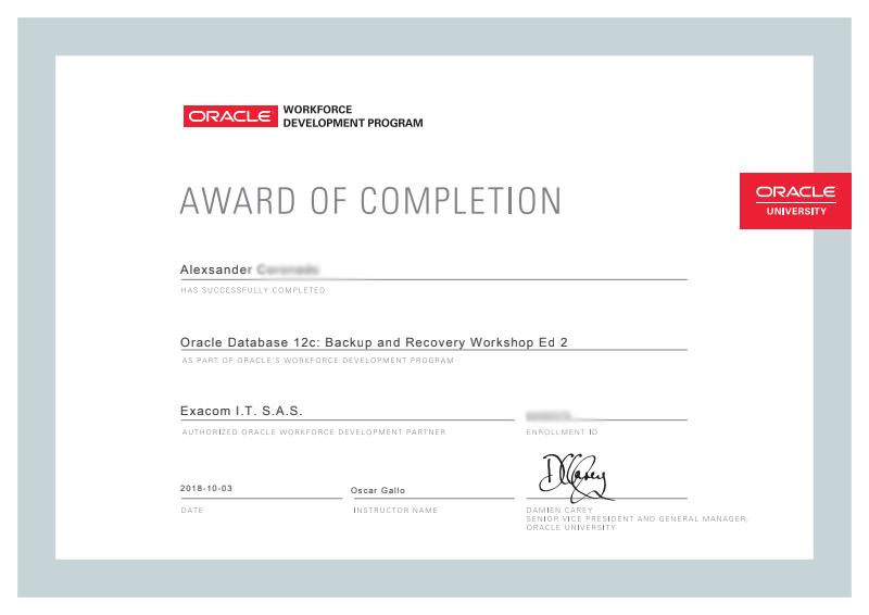 Certificado-Orcale