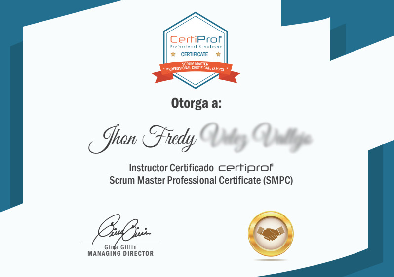 Certificado-SCRUM